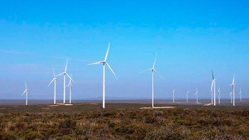 SERE WIND FARM The Western Cape wind farm is capable of producing enough electricity to supply 124 000  homes