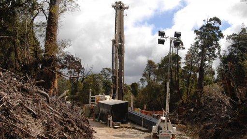 Rosebery mine, Tasmania