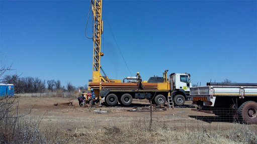 Drilling under way on the Free State property