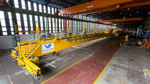 Rand Water receives delivery of new bridge crane technology