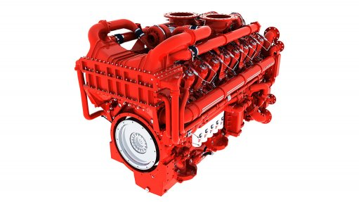 HIGH HORSEPOWER The Cummins QSK95 tier 3 engine produces 3 600 hp at only 1 800 rpm