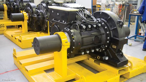 GAINING TRACTION IEC Holden is manufacturing 660 kW ac motors for use in Bombardier's Traxx Africa locomotives