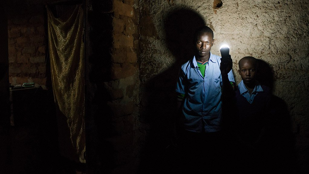 CONNECTED BY LIGHT  Solar lamps allows for independence from the electrical grid