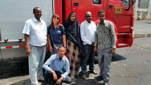 PPE donated to firefighters in African countries