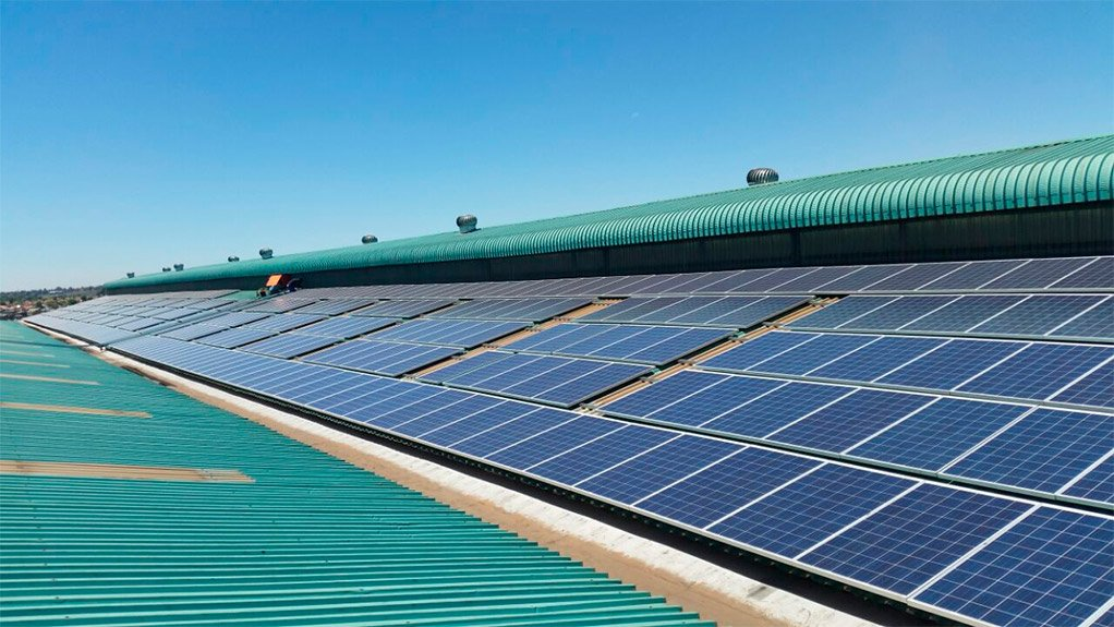 SOLAR POSSIBILITIES South Africa has lots of solar photovoltaic potential with high average peak yields of sunlight