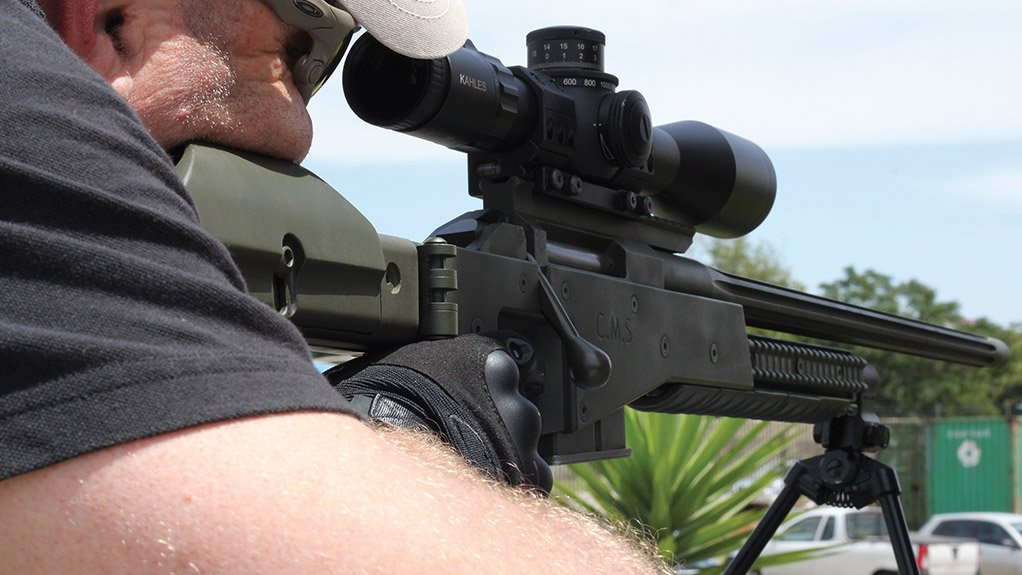 PRECISION Truvelo's rifles are lightweight, adjustable and accurate