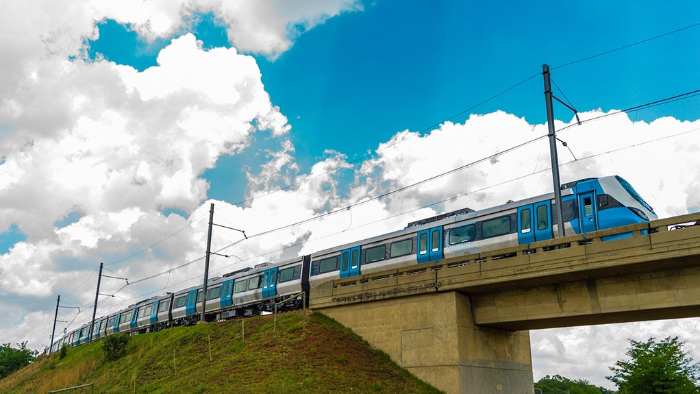 PASSENGER RAIL IMPROVEMENTS There has been significant movement to improve and increase passenger rail capacity in South Africa owing to PRASA's rolling-stock upgrade projects