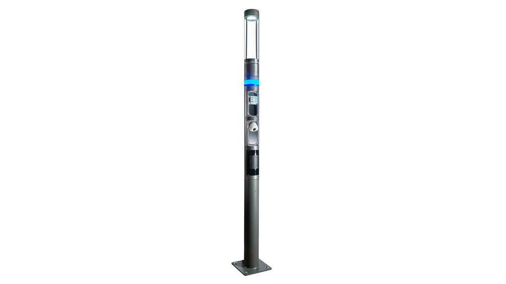 SHUFFLE LIGHTING COLUMN  The different features that the Shuffle incorporates is aimed at connecting people to their social environments