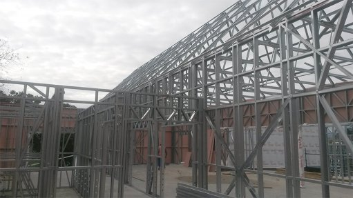 LIGHT STEEL FRAME The use of light steel frames in the construction industry is gaining momentum