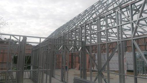 Light steel frames more environment friendly
