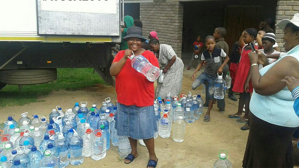 BOTTLE HOARDING Plastics SA's collects about 3500 lites of water a day