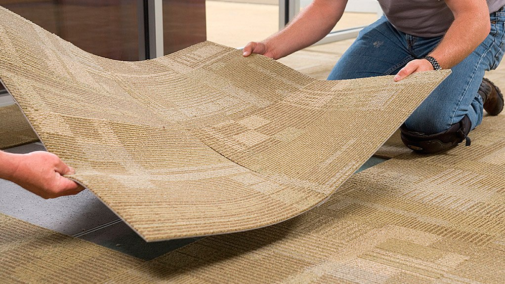 INTERFACE CARPET  Interface has now developed the first biobased backing for carpet tiles