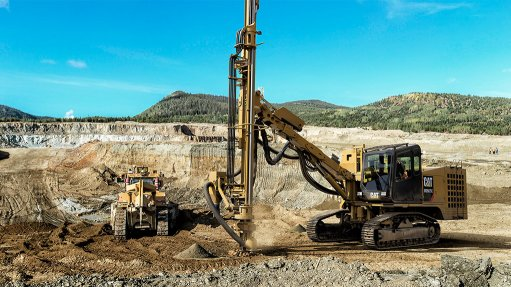 LONGER-LASTING  The MD5075C track drill is designed for best-in-class productivity, durability and low total cost of ownership, which enable the CAT rock drills to deliver three times the lifespan of competitive drills