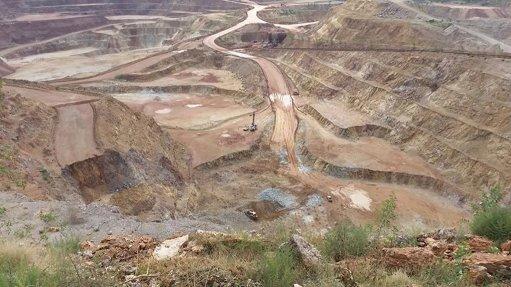 El Castillo mine, Mexico