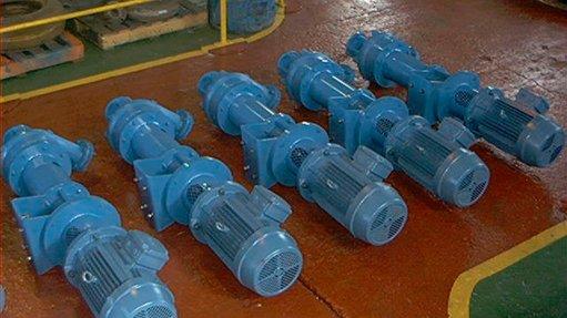 Vertical spindle  range effective for abrasive sludge