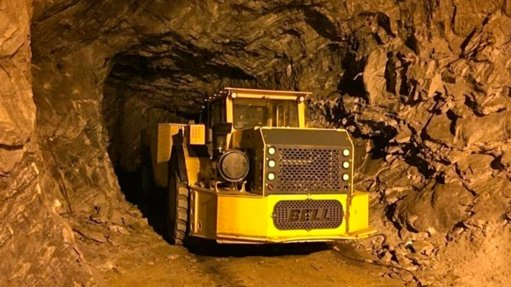 Efficiency drive includes underground articulated dump truck range