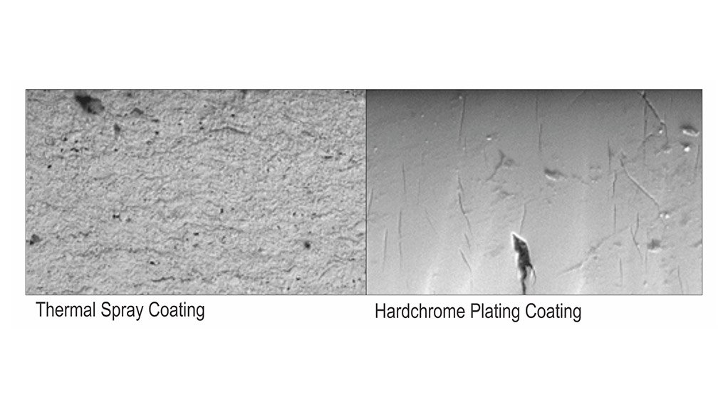 The sky's the limit with thermal spray coatings from Thermaspray
