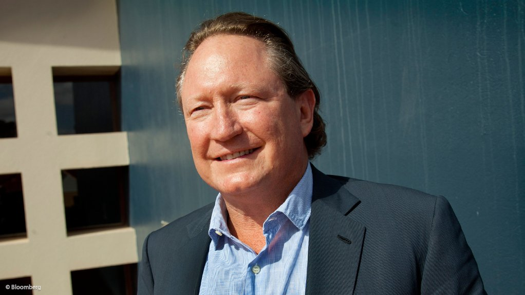 Andrew Forrest reiterates call for iron-ore inquiry.