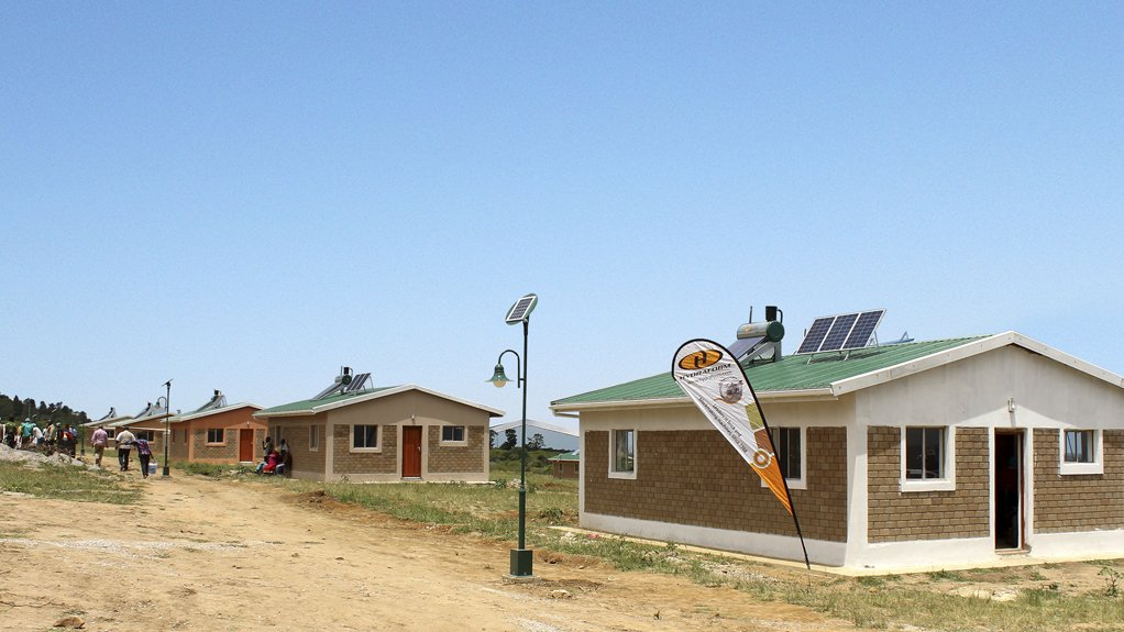 AFFORDABLE HOUSING DEVELOPED  Hydraform was contracted to undertake the construction of this project for the benefit of the community