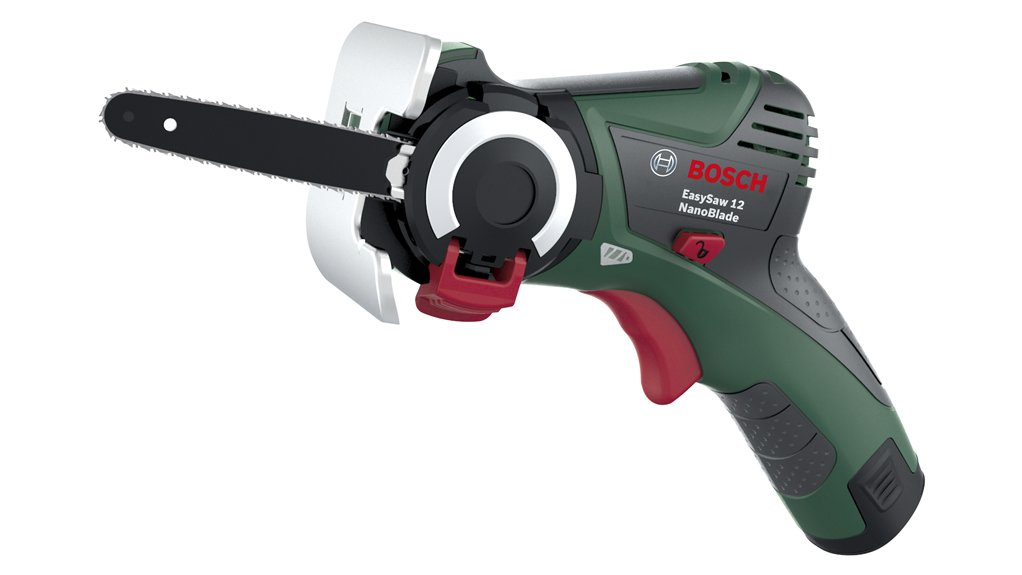 CUTTING EDGE   Bosch's new NanoBlade technology is ideal for do-it-yourself applications