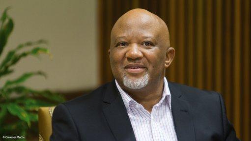 Deputy Finance Minister Mcebesi Jonas