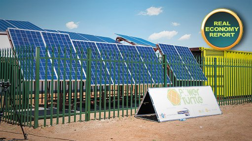 Secure solar solution to provide sustainable off-grid energy