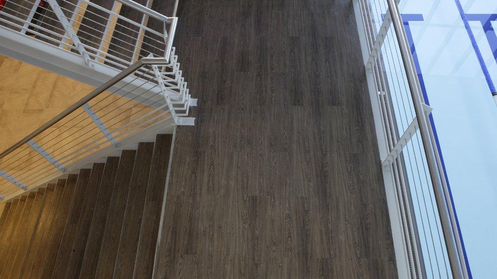 VERSATILE LVTS Luxury vinyl tiles are suitable for multiple applications