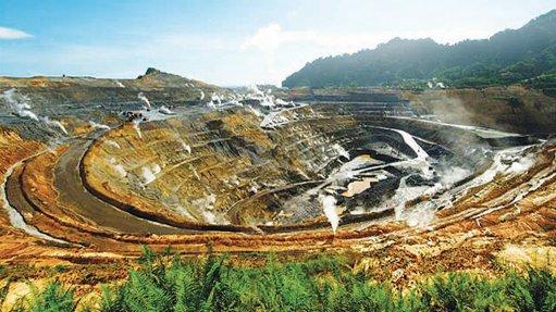 Lihir mine, Papua New Guinea