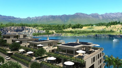 Development of Cape Town's ecofriendly  Blue Rock Village under way