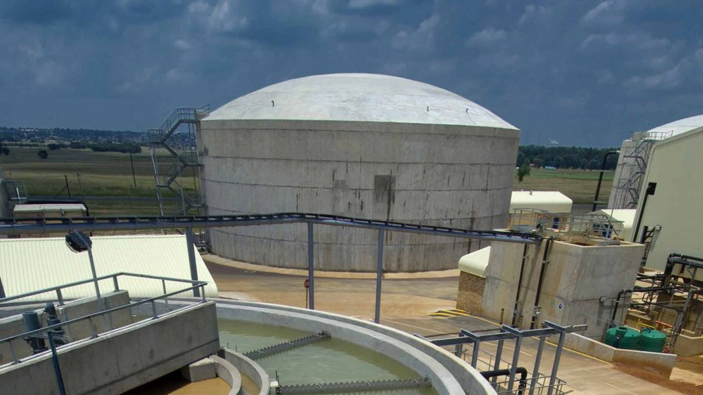 SEWAGE TREATMENT PLANT  The steps needed to clean sewage might decrease significantly