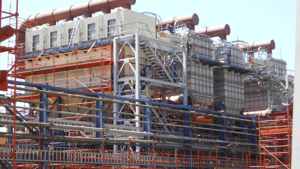 BAG FILTERS An example of FFT's product offering – a bag filter unit for a fume extraction system at Ausmelt Copper Smelter