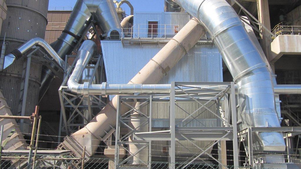 INCREASING FILTRATION EFFICIENCY Pulse jet bag filter replacing ESP on a kiln dedusting filter plant