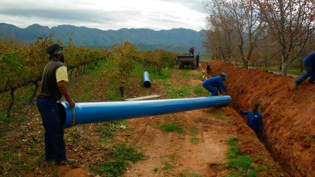 Field pressure testing ensures that PVC pipes do not leak