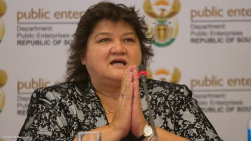 Lynne Brown: SOEs must stay in government hands