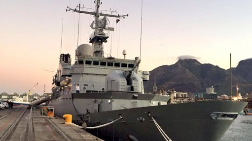 Surveillance vessel visits CT on courtesy port call
