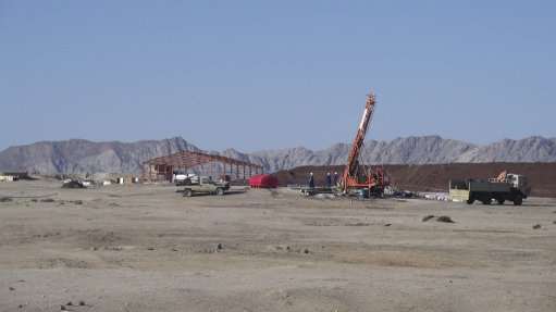 Confidence in Namib project builds despite drill rig issues