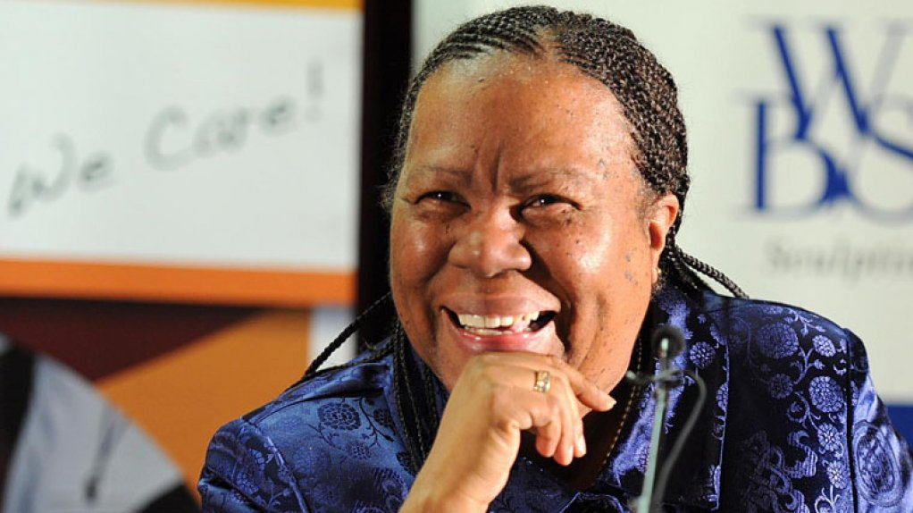 Science and Technology Minister Naledi Pandor