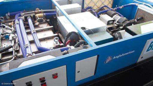 Amplats-linked German company unveils  hydrogen storage, logistics system