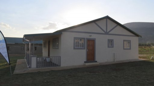 Polystyrene homes for North West orphans