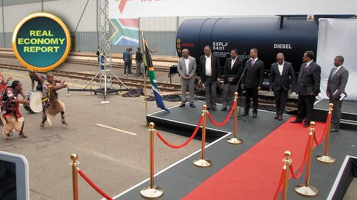 Transnet TE hands wagons over to Swaziland Rail