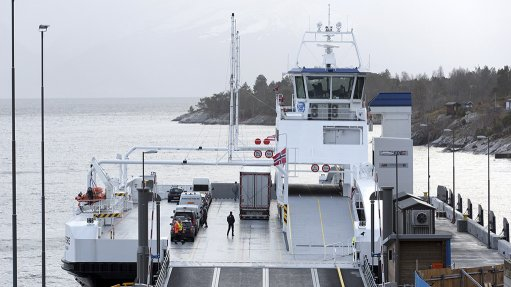 Green car ferry going  into operation mid-2017