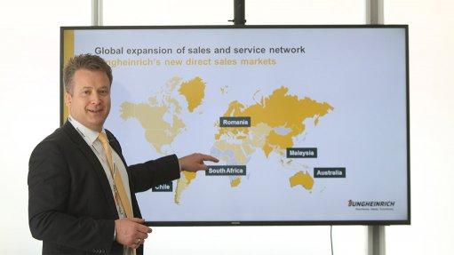 German forklift manufacturer establishes local presence