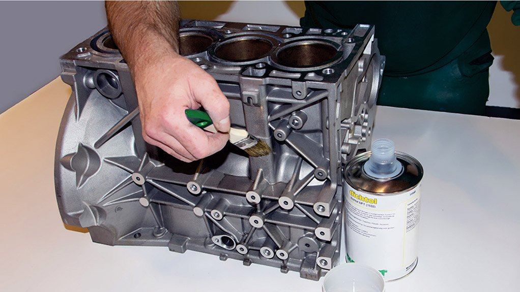 Restore the original function of castings, reduce scrap & save with polymeric coating solutions from Thermaspray