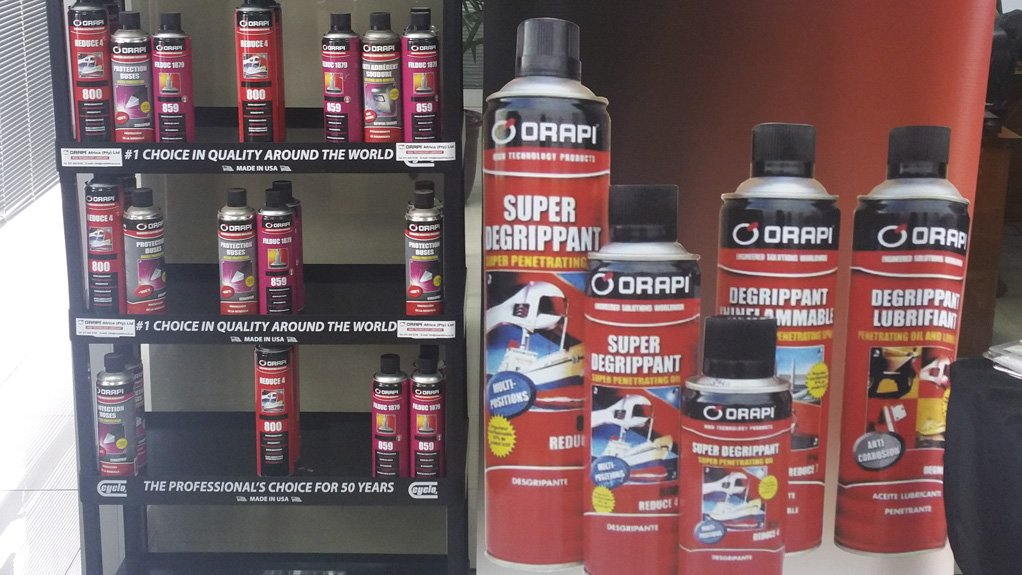 WIDE PRODUCT RANGE Orapi offers specialised products for various industries