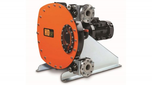 Peristaltic pumps  ideal for mining  applications