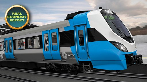 Prasa begins open line testing on new commuter trains