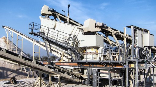 Metso 'first-ever' wheel-mounted crushing plant  increases production volumes by up to 30%