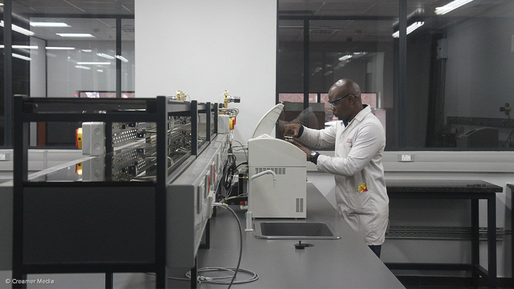 RBCT unveils new R49m coal sampling lab