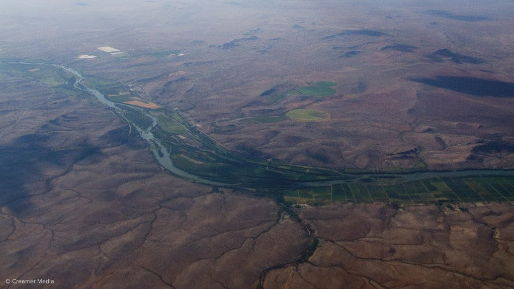 ORANGE RIVER South Africa's hydropower stations on the river have also been affected by drought