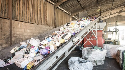 EXPORTS While exporting recyclable plastic material does bring in foreign exchange, the export of good-quality waste impacts South African recycling operations